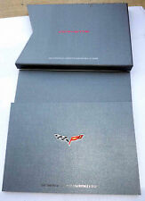 2005 Chevrolet Corvette Coupe and Convertible Press Kit Complete!