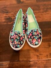 """Poetic License """"Fruit Punch"""" Floral Slip-On Sneakers, Size 9.5 (US), 6.5 (UK)"""
