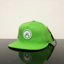 981e1afe12b OSIRIS SHOES STANDARD SNAP BACK LIME GREEN WHITE CAP HAT (ONE SIZE)