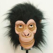 1919 Halloween High Quality Latex 3/4 Adult Monkey Ape Australopithecus Mask