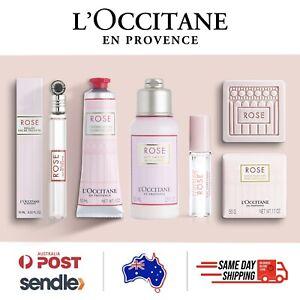 L'Occitane - Rose Gift Set + FREE SAMPLES hand cream perfume soap body lotion