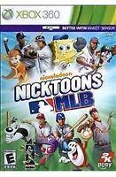Nicktoons MLB Xbox 360 Kids Game Baseball & Spongebob Squarepants