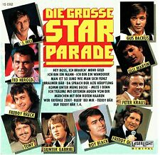 (CD) Die Grosse Starparade -Ulli Martin, Jonny Hill, Peter Kraus, Roy Black,u.a.