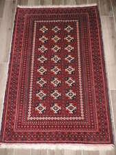3x5ft. Turkoman Bokharra Wool Rug