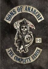 Sons of Anarchy The Complete Series 1-7 - 29 Disc Set (region 1 DVD Good)
