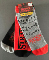 3 Paar Stranger Things Damen Sneaker Socken Füßlinge Netflix Serie 37-42 Primark