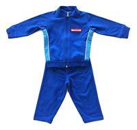 MONCLER junior tuta completo coordinato felpa + pantaloni da bambino 9/12 mesi