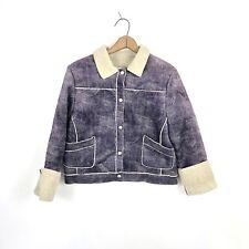 Pendleton Women's Jacket Originals Purple Sherpa Jacket Size Small USA