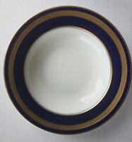 Rosenthal Continental Germany EMINENCE COBALT BLUE Gold Rimmed Soup Bowl 510768