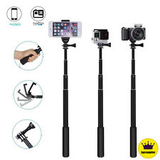 Monopod Extendable Selfie Stick with Bluetooth Remote Shutter For Phone Gopro