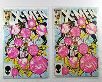 Lot Of 2: The Uncanny X-Men #188 Dec 1984, Marvel Comics Nice Free Ship