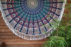 Round Tapestry Mandala Hippie Beach Rug Throw Blanket Bohemian Roundie Yoga Mat