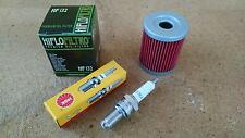 Tune up Kit Suzuki LT300E LT 300E 2WD Quadrunner Oil Filter Spark Plug 1987-1989