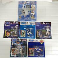 Lot of 6 Starting Lineup New York Mets Figs Baseball MLB Piazza Green Brown....