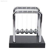 B377 Newtons Science Energy Conservation Laws Pendulum Cradle Steel Balance Ball