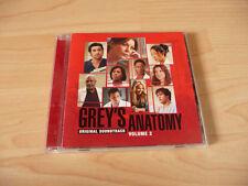 CD Soundtrack Grey`s Anatomy Volume 2 - 2006 - Snow Patrol KT Tunstall The Fray