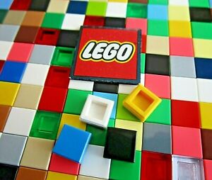 LEGO SQUARE Tiles 1x1 with Groove (x20) Choose Colour - Design 3070, 30039