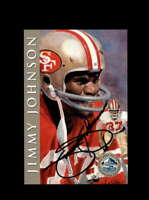 Jimmy Johnson SGC Mint 9 1998 HOF Signature Series San Francisco 49ers Autograph
