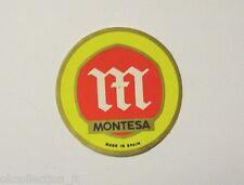 VECCHIO ADESIVO MOTO / Old Sticker Vintage MONTESA TRIAL CROSS (cm 4,5)