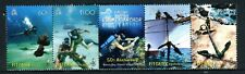 2007 Pitcairn Island Raising of The Bounty Anchor - Muh Strip of 5 Stamps