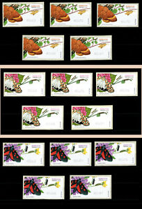 2018 Portugal ATM Af#75 5x3 MNH values. Butterflies. Insects.