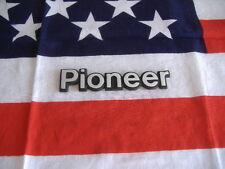US JEEP PIONEER Auto Car Chrysler Emblem Schriftzug silber Deko Typ Type Modell