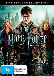 Harry Potter And The Deathly Hallows : Part 2 : 2 Disc  :  NEW DVD