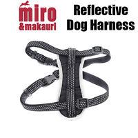 Makauri Adjustable Reflective Dog Puppy Pet Soft Padded Nylon Harness Miro