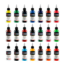 New Solong Tattoo Ink 21Colors Set 30ml each Bottle Tattoo Kit TI302-30-21
