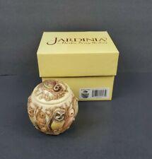 Jardinia Wisdom Of Ages Owl Cachepot Jar Trinket Box Harmony Ball Co. Kingdom