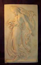 Bas relief en pierre Ménade Grecque- décoration Grèce antique