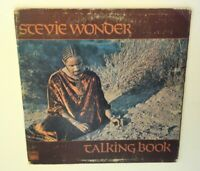 Stevie Wonder Talking Book vinyl LP 1972 gate-fold with braille Soul Funk R&B