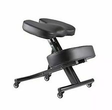 Fedmax Kneeling Chair with Orthopedic Back Pain Seat, Faux Leather