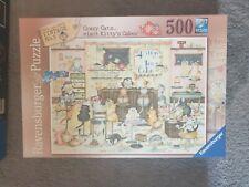 Linda Jane Smith Crazy Cats - Kitty['s Cakes 500 Piece Jigsaw