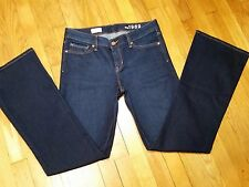 Gap 1969 Perfect Boot Jeans Size 29 r Low Rise Dark Wash Extra Nice