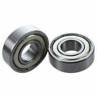 6202Z Dual Metal Shields Pair Deep Groove Radial Ball Bearing 15 x 35 x 11m N9Q7