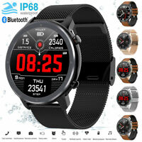 L11 Smart Watch IP68 Waterproof PPG+ECG Heart Rate Blood Pressure Oxygen Monitor
