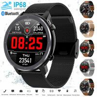L11 Smart Watch IP68 Waterproof PPG+ECG Heart Rate Blood Pressure Oxygen Monitor
