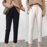 2020 Korean Fashion Slim High Waist Casual Harem Women Pencil Pants Trousers