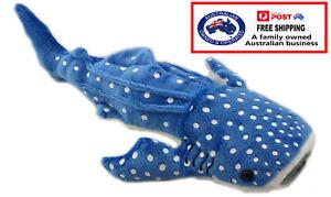 1 X PLUSH WHALE SHARK 25CM soft toy stuffed sea animal teddy kids christmas gift