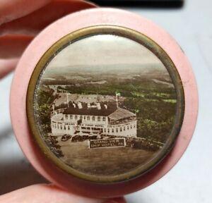 Vtg Grand View Point Ship Hotel (Schellsburg) PA Advertising Tin Rare