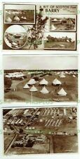 More details for old postcards barry military camp carnoustie angus real photos vintage used 1950
