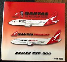 Qantas 737-300 Reg# VH-TAZ JCWings JC2QFA693 Scale 1:200