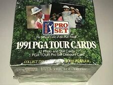 1991 Pro Set PSA Tour Golf Card Box Sealed