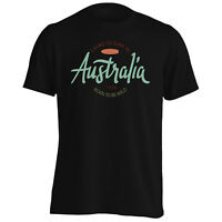 Australia Surf Holiday Art Men's T-Shirt/Tank Top o516m