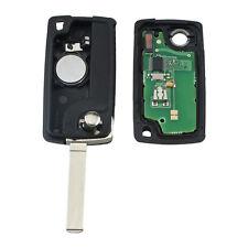 For Citroen C2C3C4 PICASSO C5 Car Remote Alarm Flip Keys Fob 433MHz PCF7961 MKLG
