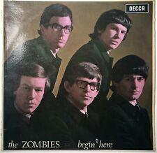 The Zombies – Begin Here 1965 Decca LK 4679 Mono LP 1st UK