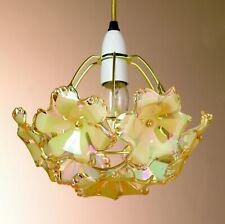Flower Pendant Easy Light in Pearlised Gold
