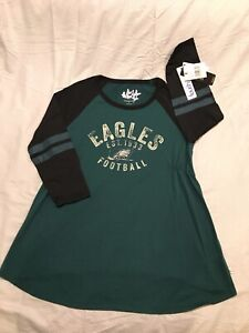 Touch By Alyssa Milano Philadelphia Eagles Maternity Shirt, Sz L, XL, NWT!