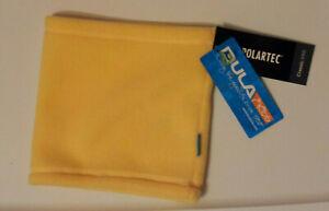 Kids Bula Yellow Maize Neck Gaiter One Size Soft Solid Polartec Classic 200 NWT